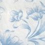 09 - Corino floral branco azul - Cadeiras