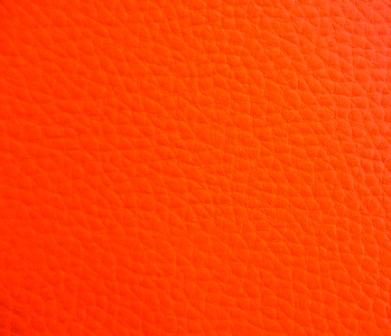 Couro ecológico laranja