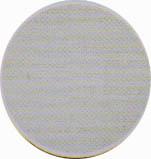 Amostra de Corvin Metalizado Branco - Banquetas Kalossi