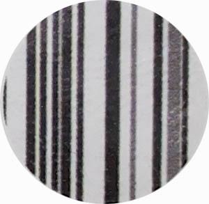 Amostra de Courvin Branco com Preto - Banquetas Kalossi