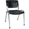 Cadeira Sigma cromada empilhável