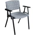 Cadeiras Sigma empilháveis com braços