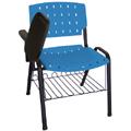 Cadeira Sigma prancheta escamoteável e porta livros
