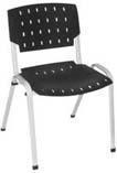 Cadeira Sigma Rhodes preto