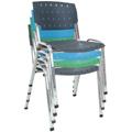 Cadeiras Sigmas empilháveis diversas cores