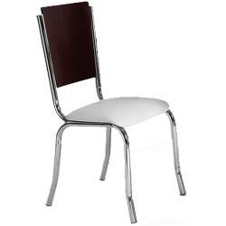 Cadeira             cromada para cozinha Artri CA 202 Berlim
