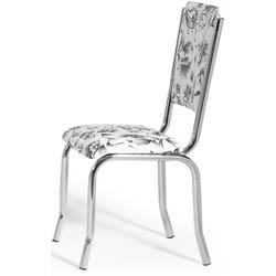 Cadeira             cromada para cozinha Artri Bagdá CA 228