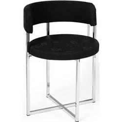Cadeira cromada para cozinha Artri             Bruxelas CA 211