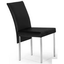Cadeira cromada para cozinha Artri Madri CA 225
