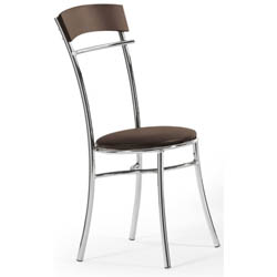 Cadeira             cromada para cozinha Artri Moscou CA 226