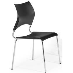 Cadeira cromada para cozinha Artri Paris CA 220