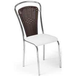 Cadeira             cromada para cozinha Artri Pequim CA 212