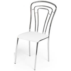 Cadeira             cromada para cozinha Artri Quito 214