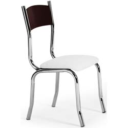 Cadeira                     cromada para cozinhas Artri Oslo CA 201