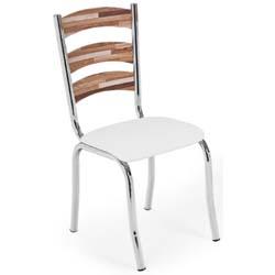 Cadeira             cromada para cozinha Artri Beirute CA 215