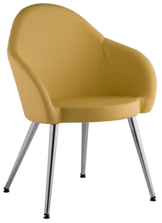 Cadeira Gogo estofada 4 pés