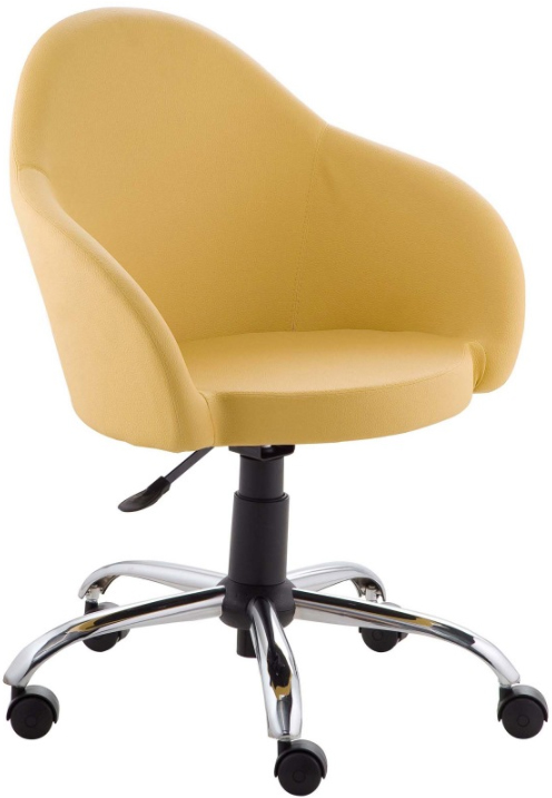 Cadeira Gogo estofada giratória