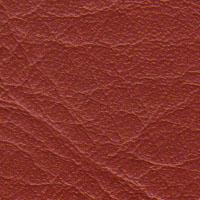 Cadeiras couro natural vermelho telha Supreme