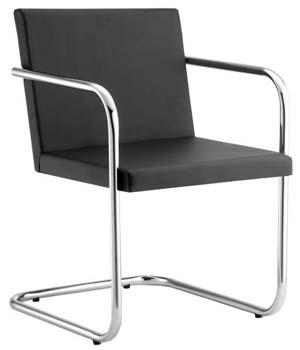 Cadeira Diretor aproximação couro sintético