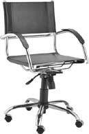Cadeira diretor com relax couro natural Ideale