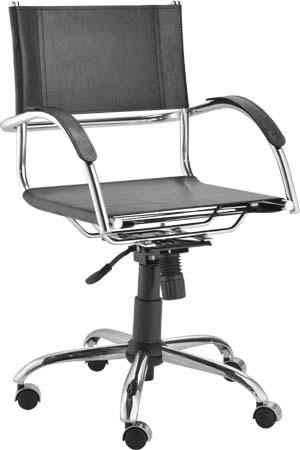 Cadeira Ideale diretor relax couro natural