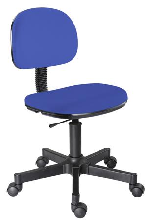 Cadeira azul escuro secretária giratória