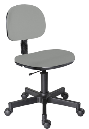 Cadeira             cinza secretária giratória