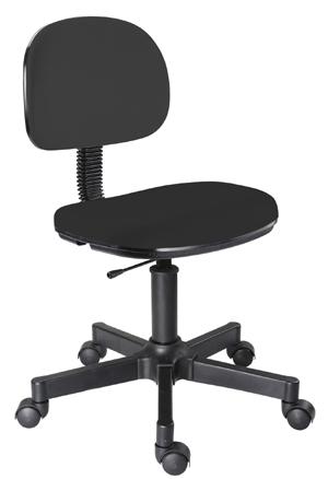 Cadeira             preta secretária giratória