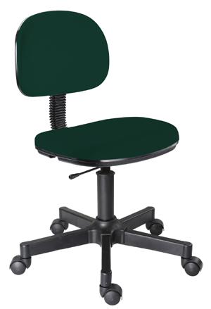 Cadeira verde secretária giratória