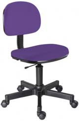 Cadeira Secretária Giratória Secretaria                         Lilás