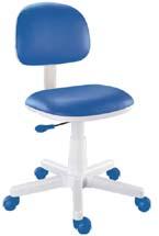 Cadeira Giratória Kids Azul