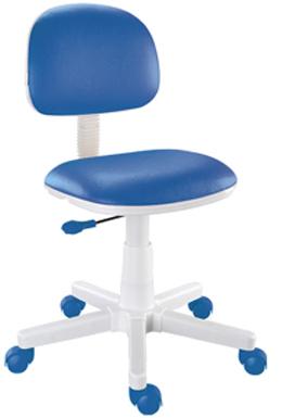 Cadeira giratória azul Kids