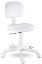 Cadeira girat�ria kids branca