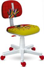 Cadeira Kids l�pis vermelha