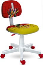 Cadeira Kids             lápis vermelha