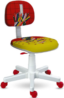 Cadeira giratória lápis vermelho linha Kids
