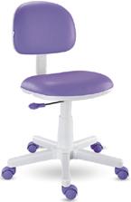 Cadeira giratória Kids lilás