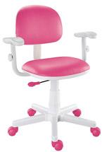 Cadeira kids pink com braços digitador