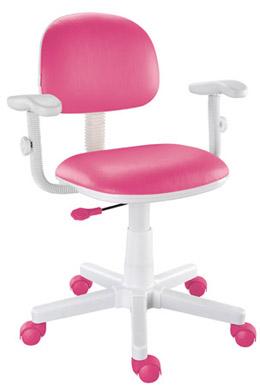 Cadeira giratória pink Kids