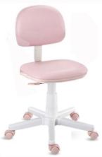 Cadeira giratória kids rosa bebê