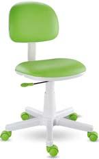 Cadeira Giratória Kids Verde Limao