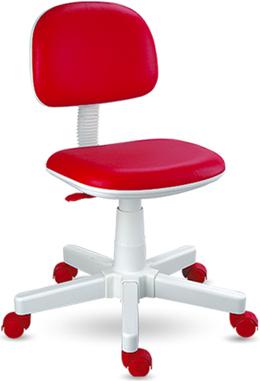 Cadeira giratória vermelha Kids