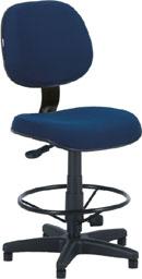 Cadeira caixa executiva giratória com aro regulável ECO100.06.BCE.0.00