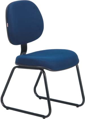 Cadeira             secretária executiva aproximação             trapézio ECO100.06.ETE.0.00
