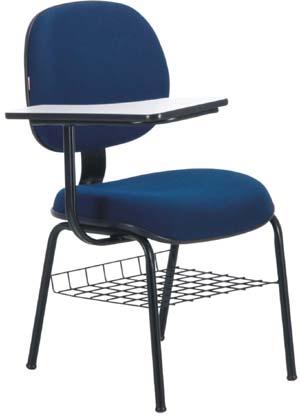 Cadeira             secretária executiva prancheta porta livros             ECO100.06.E4E.0.00