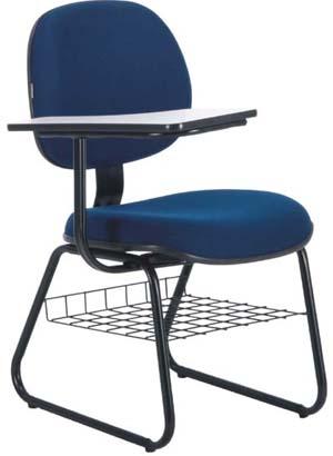 Cadeira secretária             executiva prancheta escolar porta livros             ECO100.06.ETEGD.0