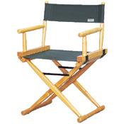 Cadeira Hollywood clássica Lona Verde Madeira Marfin