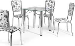 Conjunto mesa e cadeiras             Artri Bagdá CA 228