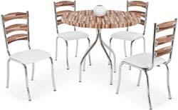 Conjunto mesa e             cadeiras CA 215 Beirute Artri