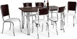 Conjunto mesa e cadeiras             Artri Berlim CA 202